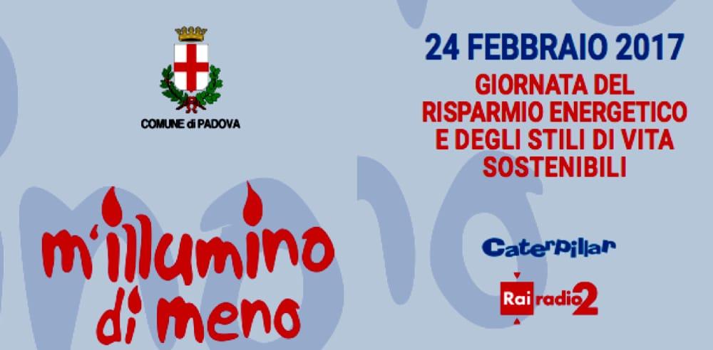 M'ILLUMINO DI MENO PADOVA 2017-2